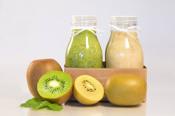 Smoothies saludables con kiwis Zespri